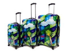 Feng Shui Palm Tree - 3-Piece Set