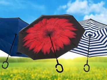 Reverse Umbrellas for You!