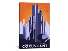 Coruscant by DarkLord (2-Sizes)