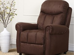 Agoura Recliner, Chocolate