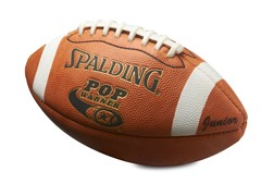 Pop Warner Junior Leather Football
