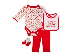 4pc Bodysuit Set - Baby's First (0-12M)
