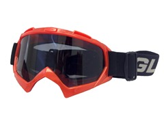Youth Off-Road Goggles - Red