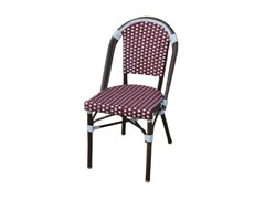 2-Pack Faux Bamboo Wicker Bistro Chair