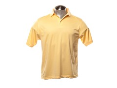 PlayDry Horizontal Texture Polo - Yellow