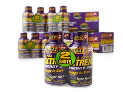 Stacker 2 Extreme Energy Shot-48 Bottles