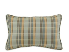Plaid Peacock 12.5x19 Pillow