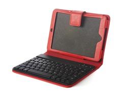 Bluetooth Keyboard iPad mini Folio - Red