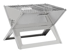 Notebook Charcoal Grill, Stainless