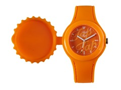 Orange Silicone Watch