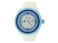 Ten Beats 3H White/ Light Blue