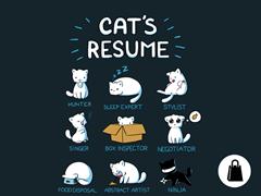 Cat's Resume Tote