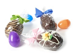 Filled Chocolate Egg 3-Pack