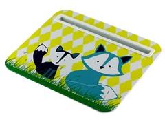 Tablet Cushion - Yellow 2-Fox Design