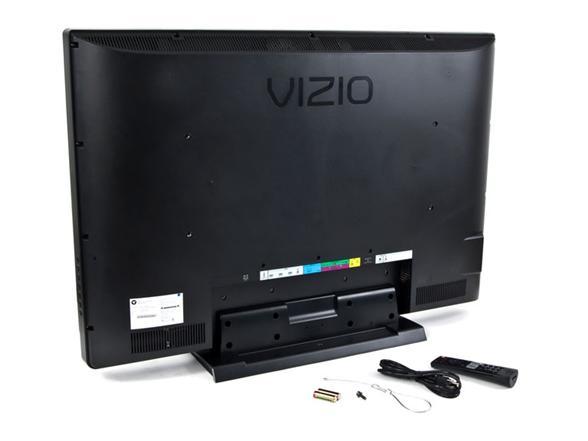 """vizio 42 u201d 1080p lcd hdtv rh sellout woot com Vizio 42"""" LCD Vizio Back Remove Cover"""