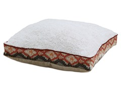 Crushed Sand-Chino Birch 23x23 Boxed Pet Bed