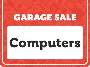 Computers Garage Sale