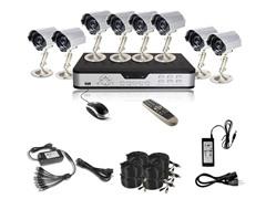 8CH, 8-Camera H.264 DVR System