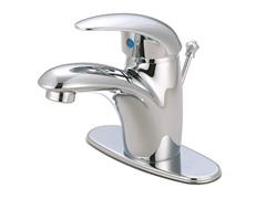 Single Handle with Pop-up, Chrome
