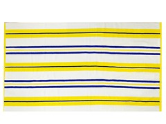 450GSM 36x70 Yellow & Blue Stripe Towel