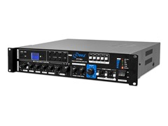 375W PA Amplifier with 5 Mic Inputs