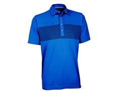 Performance Double Knit Golf Shirt - Sea Blue