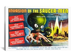 Invasion of the Saucer-Men (2-Sizes)