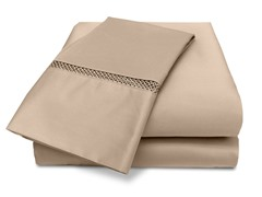 Veratex Princeton 500TC Sheet Set-Taupe-5 Sizes