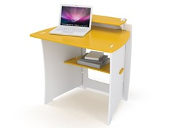 Yellow and White 34-Inch Kids' Desk