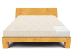 "LUCID® 12"" Plush Triple-Memory Foam Mattress - Twin XL"
