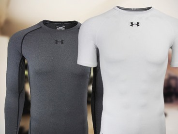Under Armour Men's Compression Tees - All You Need to Show those Muscles