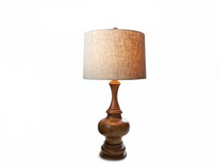"Natural Oak 28"" Table Lamp"