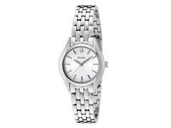 Women's Silver/White Dial Bracelet Watch