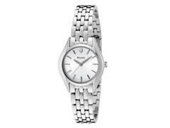 Bulova Silver/White Dial Bracelet Watch