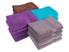 Performance Quick Dry 4-Pack Bath Towels- 4 Colors