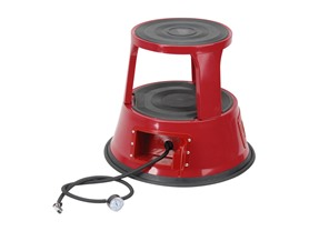 Iron Bridge Tools Air Stool Red