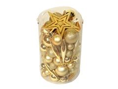 Gold 100pc Ornament Kit