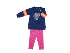 2-Pc Set Navy Fleece (12M)