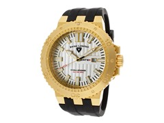 Challenger Watch, White / Gold / Black