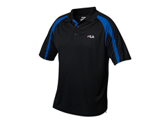 Fila Polo Shirt, Black/Blue