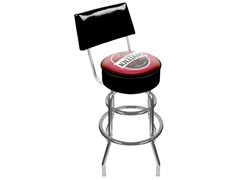 Killians Irish Red Padded Stool w/ Back