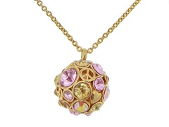 Relic RJ1815710 Gold Circle Necklace