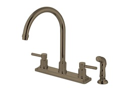 Concord Kitchen Faucet and Sprayer, Satin Nickel