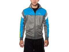 Tamgare Track Jacket - Grey/Blue/Yellow