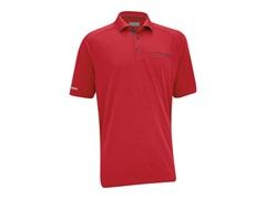 Ashworth Men's Polo Shirt, Dark Coral