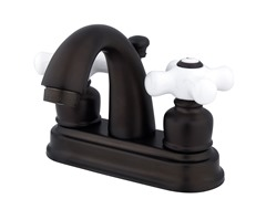 Restoration Centerset Faucet, Oil Rubbed Bronze