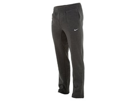 Nike Men's Club Open Hem Utility Sweat Pants-Gray-2XL
