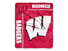 Wisconsin Plush Throw