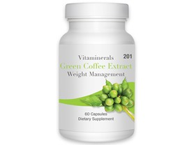 Vitaminerals Green Coffee Extract, 60ct
