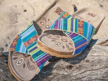 MUK LUKS Women's Wedge Sandals